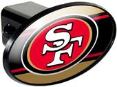 NFL San Francisco 49ers Trailer Hitch Cover