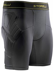 Storelli Sports BodyShield Black Slider Shorts