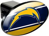 NFL L.A. Chargers Trailer Hitch Cover