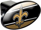 NFL New Orleans Saints Trailer Hitch Cover