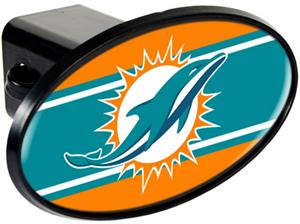 NFL Miami Dolphins Trailer Hitch Cover