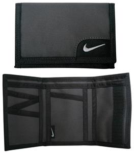 NIKE Tri-Fold Bank Wallet Black