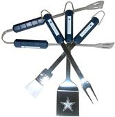 NFL Dallas Cowboys 4 Piece BBQ Grilling Set