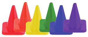 Champion Hi Visibility Flexible Vinyl 6&quot; Cone Sets