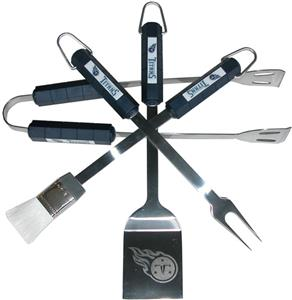 NFL Tennessee Titans 4 Piece BBQ Grilling Set