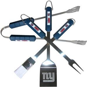 NFL New York Giants 4 Piece BBQ Grilling Set