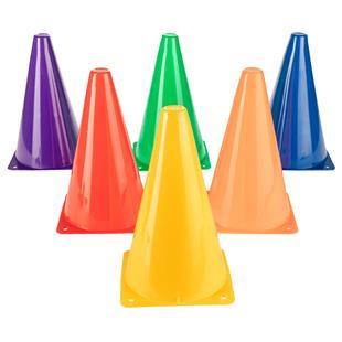 """Champion Hi Visibility Fluorescent 9"""" Cone Set"""