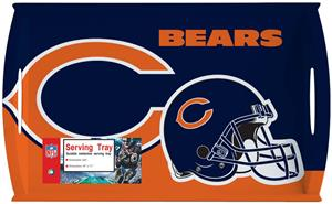 "NFL Chicago Bears 11"" x 18"" Serving Tray"