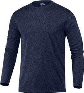 Baw Long Sleeve Xtreme-Tek Heather T-Shirts