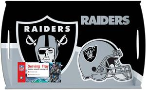 "NFL Oakland Raiders 11"" x 18"" Serving Tray"