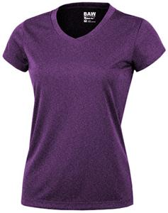 Baw Ladies Short Sleeve Xtreme-Tek Heather T-Shirt