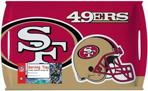 "NFL San Francisco 49ers 11"" x 18"" Serving Tray"