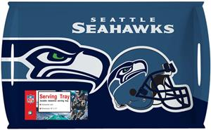 "NFL Seattle Seahawks 11"" x 18"" Serving Tray"