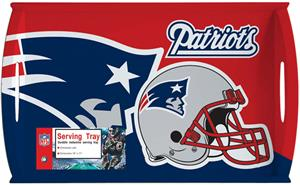 NFL New England Patriots 11&quot; x 18&quot; Serving Tray