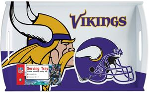 "NFL Minnesota Vikings 11"" x 18"" Serving Tray"