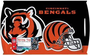"NFL Cincinnati Bengals 11"" x 18"" Serving Tray"