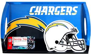 "NFL San Diego Chargers 11"" x 18"" Serving Tray"