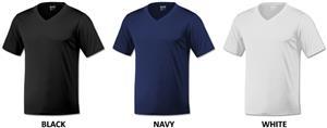 Baw Men's Short Sleeve Xtreme-Tek V-Neck T-Shirts