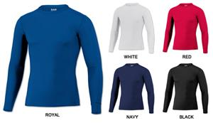 Baw Men's Long Sleeve Compression Cool-Tek Shirts