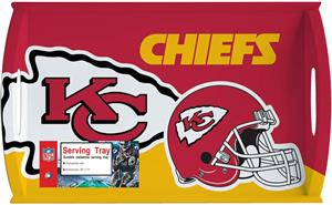 "NFL Kansas City Chiefs 11"" x 18"" Serving Tray"