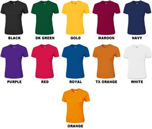 Ladies SS Loose-Fit Cool-Tek T-Shirts