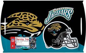 """NFL Jacksonville Jaguars 11"""" x 18"""" Serving Tray"""