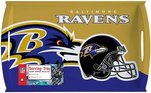 "NFL Baltimore Ravens 11"" x 18"" Serving Tray"
