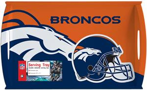NFL Denver Broncos 11&quot; x 18&quot; Serving Tray