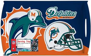 NFL Miami Dolphins 11&quot; x 18&quot; Serving Tray