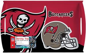 "NFL Tampa Bay Buccaneers 11"" x 18"" Serving Tray"