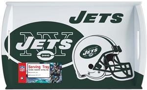 NFL New York Jets 11&quot; x 18&quot; Serving Tray
