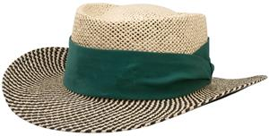Richardson 826 Two Color Gambler Straw Hat