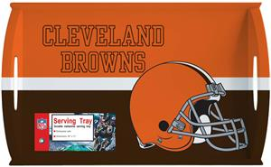 "NFL Cleveland Browns 11"" x 18"" Serving Tray"