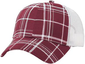 Richardson 114 Plaid Mesh Back Adjustable Cap