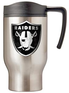 NFL Oakland Raiders Stainless Steel Travel Mug