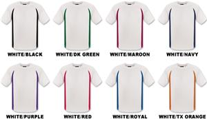 Adult SS White Body Cool-Tek T-Shirts
