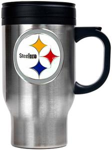NFL Pittsburgh Steelers Stainless Steel Travel Mug