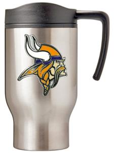 NFL Minnesota Vikings Stainless Steel Travel Mug