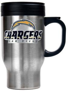 NFL San Diego Chargers Stainless Steel Travel Mug