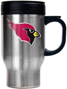 NFL Arizona Cardinals Stainless Steel Travel Mug