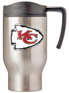 NFL Kansas City Chiefs Stainless Steel Travel Mug