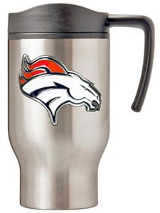 NFL Denver Broncos Stainless Steel Travel Mug