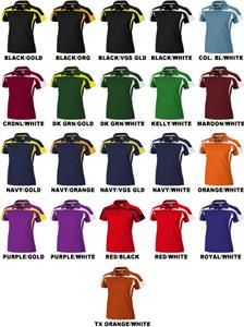 Ladies SS Eagle Cool-Tek Polo Shirts