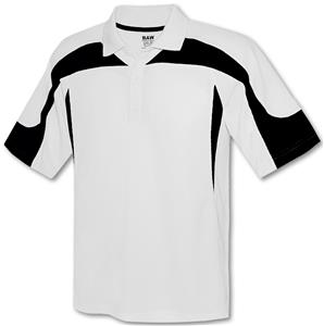 Baw Men's SS White Body Eagle Cool-Tek Polo Shirts
