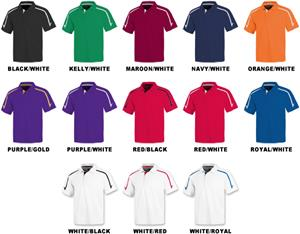 Baw Men's SS Infinity Cool-Tek Polo Shirts