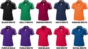 Baw Ladies SS Infinity Cool-Tek Polo Shirts