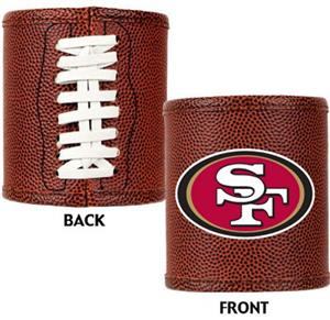 NFL San Francisco 49ers Football Can Koozie