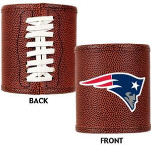 NFL New England Patriots Football Can Koozie