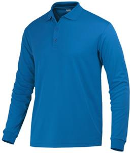 Baw Men's Long Sleeve ECO Cool-Tek Polo Shirts