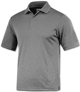 Baw Men's SS Xtreme-Tek Heather Polo Shirts